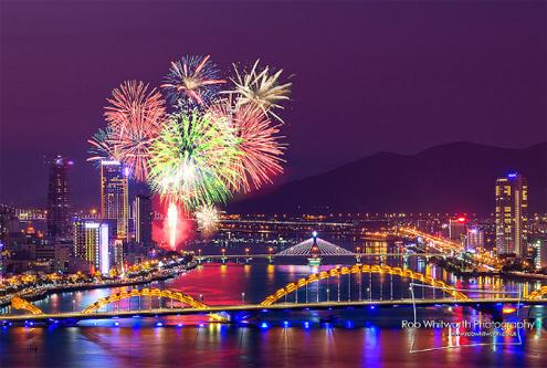 Lễ hội bắn pháo hoa ở Đà Nẵng