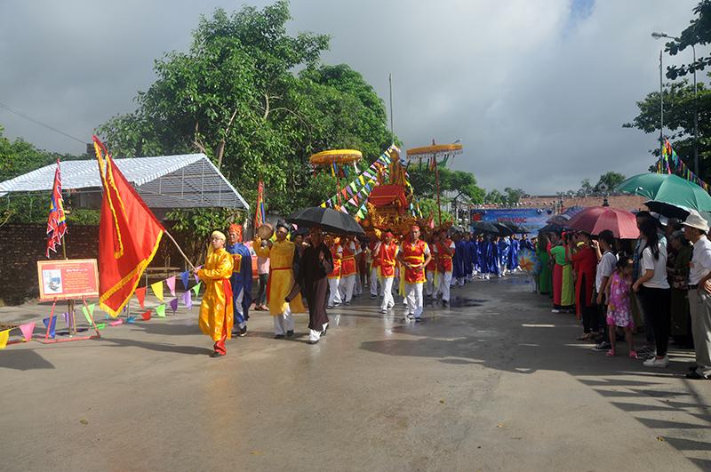 Lễ hội Đình Trả Cổ là 1 nét văn hóa của nhân dân Trà Cổ rất háo hức đón chờ