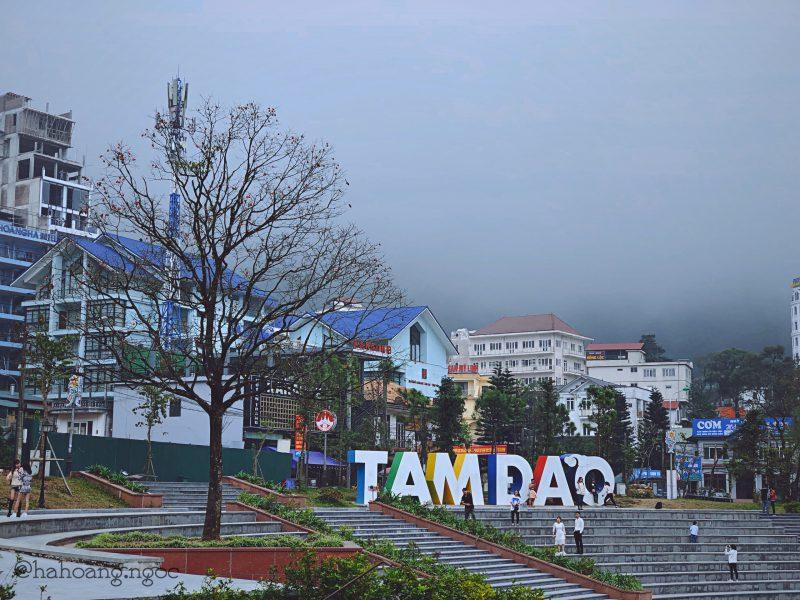 Thành phố Tam Đảo - địa danh nổi tiếng tại miền bắc Việt Nam cách không xa Hà Nội