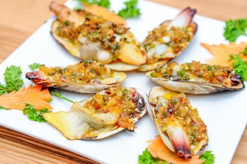 Tu hài- hải sản ngon nức tiếng của biển đảo Cát BàTu hài- hải sản ngon nức tiếng của biển đảo Cát Bà