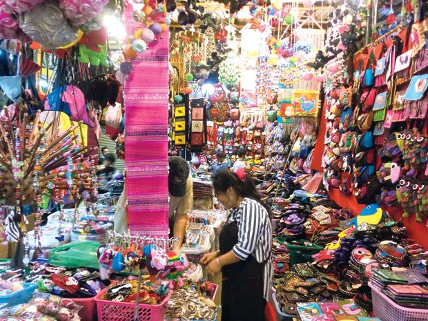Mua sắm ở Thái Lan