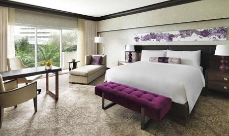 Phòng trong Fairmont Singapore