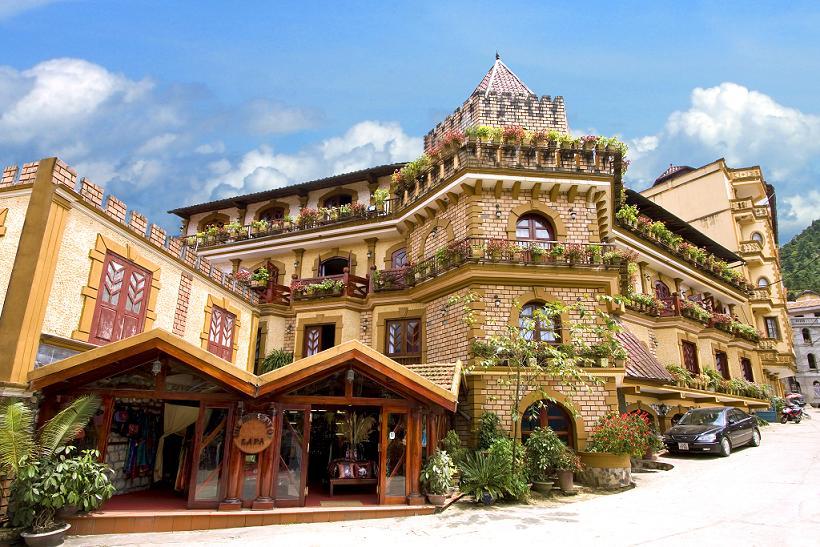 Độc đáo kiến trúc khách sạn Châu Long