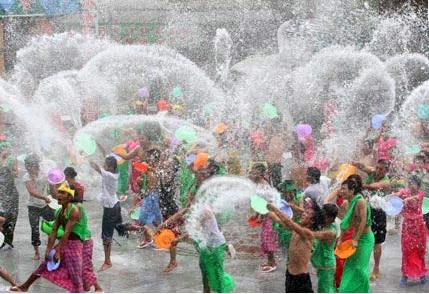 Một trong những lễ hội truyền thống Thái Lan