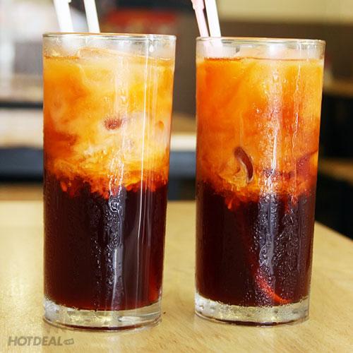 Mát lạnh với cốc trà lạnh mát lành và thơm ngon