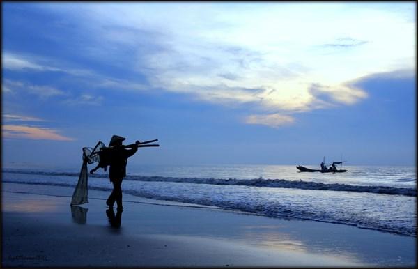 Biển Hải Tiến- vẻ đẹp con người ngư dân thân thiện