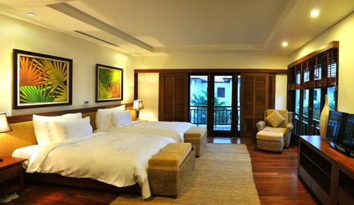 Phòng sang trọng và tiện nghi ở khu nghỉ dưỡng Furama Resort