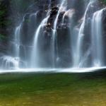 Vẻ đẹp dịu dàng của thác Tiên