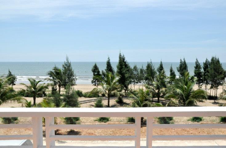 Nhà nghỉ ở Biển Hải Tiến