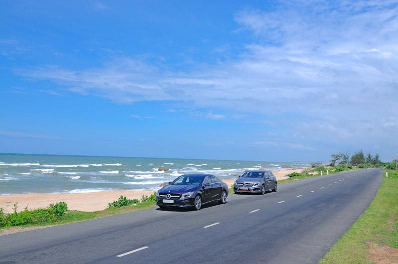 Đường đến biển Hải Tiến